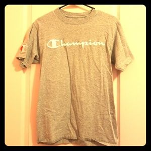 AUTHENTIC GREY CHAMPION T-SHIRT!